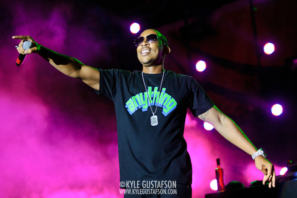 COLUMBIA, MD - SEPTEMBER 25th, 2010:  Hip-hop heavyweight Ludacris performs at the 2010 Virgin Mobile FreeFest at Merriweather Post Pavilion. (Photo by Kyle Gustafson/For The Washington Post)