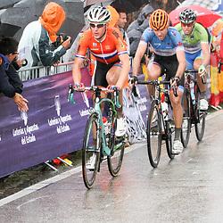 28-09-2014: Wielrennen: WK weg Elite mannen: Ponferrada <br /> WIELRENNEN PONFERRADA SPAIN ROAD RACE ELITE MEN<br /> Stef Clement