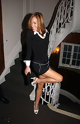 TARA PALMER-TOMKINSON at the launch party for the 'Second Floor at Kettner' 29 Romilly Street, London W1 on 4th May 2006.<br />