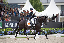 Klinkers Kyra, NED, Equirelle W<br /> Final 7 years of age<br /> World Championship Young Dressage Horses <br /> Ermelo 2016<br /> © Hippo Foto - Dirk Caremans<br /> 31/07/16