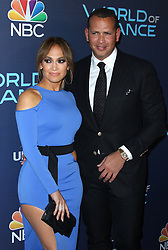 Jennifer Lopez and Alex Rodriguez at the World Of Dance Celebration held at Delilah on September 19, 2017 in West Hollywood, CA, USA (Photo by JC Olivera/Sipa USA)