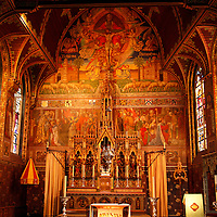 Europe, Belgium, Brugges. Basilica of the Holy Blood.