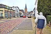 Nederland, Bronckhorst, 18-1-2018Beeld uit de gemente Bronckhorst. Het dorp Hengelo met haar katholieke kerk.Foto: Flip Franssen