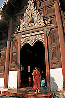 Like most temples in Thailand, Wat Pantao also serves as a school for novice monks.  Not only do temples in Thailand offer school instruction, but serve as neighborhood community centers as well.