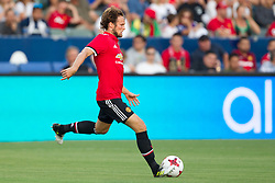 July 15, 2017 - Carson, California, U.S - Manchester United D Daley Blind (17) in action during the summer friendly between Manchester United and the Los Angeles Galaxy at the StubHub Center. (Credit Image: © Brandon Parry via ZUMA Wire)