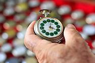 Watch made in Gibara, Holguin, Cuba.