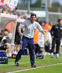Bristol Rovers First Team Manager, Darrell Clarke - Photo mandatory by-line: Joe Meredith/JMP - Mobile: 07966 386802 03/05/2014 - SPORT - FOOTBALL - Bristol - Memorial Stadium - Bristol Rovers v Mansfield - Sky Bet League Two