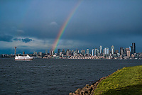 Rainbow over Seattle