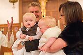 Thea and Xander baptism