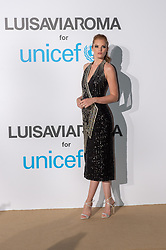 Alexina Graham arriving at a photocall for the Unicef Summer Gala Presented by Luisaviaroma at Villa Violina on August 10, 2018 in Porto Cervo, Italy. Photo by Alessandro Tocco/ABACAPRESS.COM