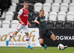 BOREHAMWOOD, ENGLAND - Saturday, September 28, 2019: Liverpool's Herbie Kane during the Under-23 FA Premier League 2 Division 1 match between Arsenal FC and Liverpool FC at Meadow Park. (Pic by Kunjan Malde/Propaganda)