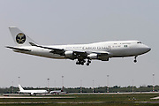 TF-AMF Saudi Arabian Cargo Boeing 747 at Malpensa airport, Milan, Italy