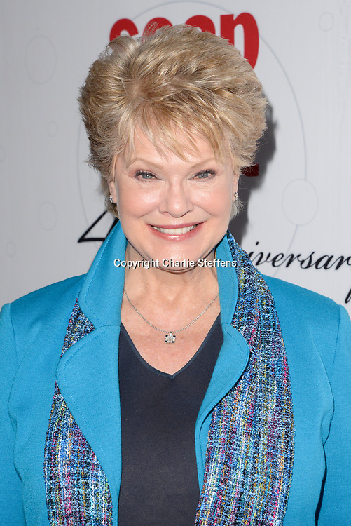 GLORIA LORING at Soap Opera Digest's 40th Anniversary party at The Argyle Hollywood in Los Angeles, California