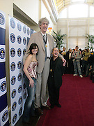 Chris Greener, the tallest living man, Kym Marsh and Wayne Sleep. 50th Anniversary Party of the Guinness Book of World Records, November 16, 2004 - The Royal Opera House London, Great Britain<br />ONE TIME USE ONLY - DO NOT ARCHIVE  © Copyright Photograph by Dafydd Jones 66 Stockwell Park Rd. London SW9 0DA Tel 020 7733 0108 www.dafjones.com