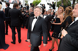 File photo : Roman Polanski arriving at Saint-Laurent screening held at the Palais Des Festivals in Cannes, France on May 17, 2014, as part of the 67th Cannes Film Festival. Film dirctor Roman Polanski has given up a chance to preside over the Cesar awards - France's equivalent of the Oscars, his lawyer said on Thursday after the decision to hand him the role caused outrage among women's groups, who had called for protests. Their anger is caused by the fact Polanski has been wanted in the US for almost four decades for the rape of a 13-year-old girl in Los Angeles in 1977. Photo by Nicolas Briquet/ABACAPRESS.COM