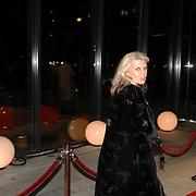 NLD/Hilversum/20061201 - Opening Nederlands Instituut voor Beeld en Geluid, Lieke ten Cate, partner van Rutger Hauer