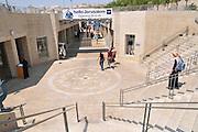 Israel, Jerusalem, Mamila Mall pedestrian shopping street