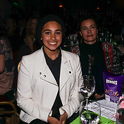 London,England,UK. 11th May 2017. Outstanding Contribution to Women's Sport Winner Anisa Ansar at the Women's Sport Trust Awards - #BeAGameChanger at The Troxy,london, UK. by See Li