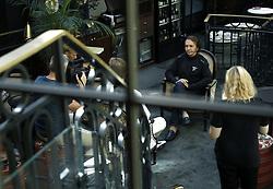 August 14, 2017 - Stockholm, Sweden - Racerförare, Emerson Fittipaldi, blir intervjuad av TV..Pressträff pÃ¥ hotell kungsträdgÃ¥rden ang Superswede: en film om Ronnie Peterson, Stockholm, 2017-03-25..(c) Patrik C Österberg / IBL..XPBE......English: ..Press conference at hotel Royal Garden Ang Superswede: a film about Ronnie Peterson, Stockholm, 2017-03-25..(C) Patrik C Österberg / IBL..(c) Photo: Patrik C Osterberg / IBL (Credit Image: © Patrik ÖSterberg/IBL via ZUMA Press)