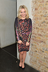 POPPY JAMIE at the Lancôme pre BAFTA party held at The London Edition, 10 Berners Street, London on 14th February 2014.