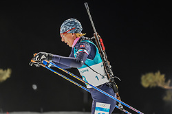 February 12, 2018 - Pyeongchang, Gangwon, South Korea - Anastasiya Kuzmina of Slovakia  competing at Women's 10km Pursuit, Biathlon, at olympics at Alpensia biathlon stadium, Pyeongchang, South Korea. on February 12, 2018. Ulrik Pedersen/Nurphoto  (Credit Image: © Ulrik Pedersen/NurPhoto via ZUMA Press)