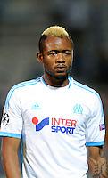 Nicolas NKOULOU / Jordan AYEW / Andre Pierre GIGNAC - 22.10.2013 - Marseille / Naples - Champions League<br /> Photo: Amandine Noel / Icon Sport