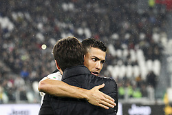 November 3, 2018 - Turin, Italy - Juventus forward Cristiano Ronaldo (7) hugs Juventus president Andrea Agnelli during the Serie A football match n.11 JUVENTUS - CAGLIARI on 03/11/2018 at the Allianz Stadium in Turin, Italy. (Credit Image: © Matteo Bottanelli/NurPhoto via ZUMA Press)