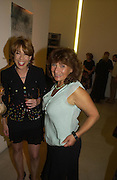 Kathy Lette and Lisa Appignanesi. Party to celebrate the publication of Shalimar the Clown by Salman Rushdie. David Gill Gallery, 3 Loghborough St. London SE11 ONE TIME USE ONLY - DO NOT ARCHIVE  © Copyright Photograph by Dafydd Jones 66 Stockwell Park Rd. London SW9 0DA Tel 020 7733 0108 www.dafjones.com