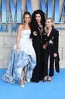 Lily James, Cher, Amanda Seyfried, Mamma Mia! Here We Go Again - World premiere, Eventim Apollo, Hammersmith, London, UK, 16 July 2018, Photo by Richard Goldschmidt