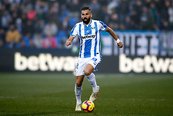 December 23, 2018 - Madrid, Madrid, Spain - Siovas of Leganes during the spanish championship La Liga football match played between CD Leganes and Sevilla FC at Municipal Butarque stadium in Leganes, Madrid, Spain. Dic 23th 2018. (Credit Image: © AFP7 via ZUMA Wire)