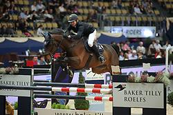 Liebherr Christina, (SUI), LB Akteur<br /> Champion von München<br />  Jumping München 2015<br /> © Hippo Foto - Stefan Lafrentz