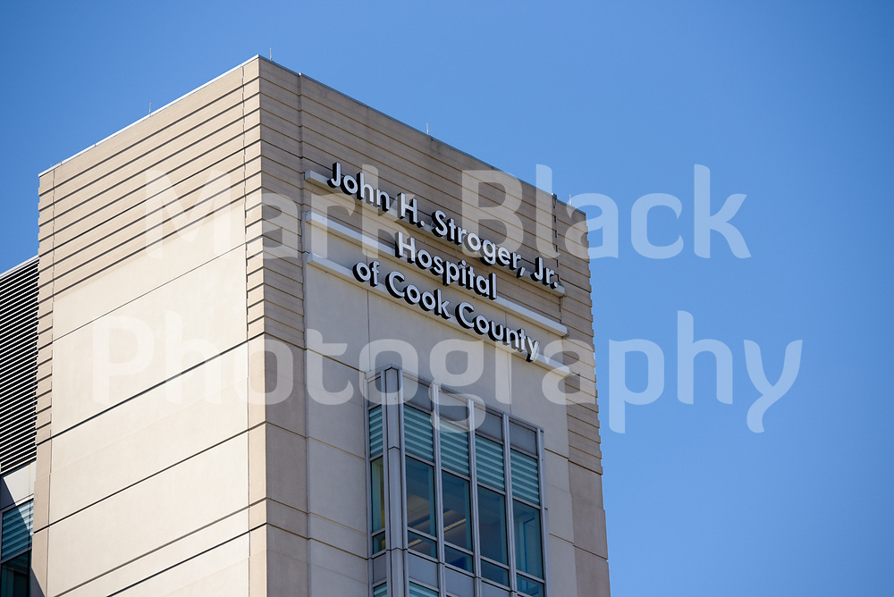 John H. Stroger, Jr. Hospital of Cook County in Chicago on Wednesday, Aug. 19, 2020.  Photo by Mark Black