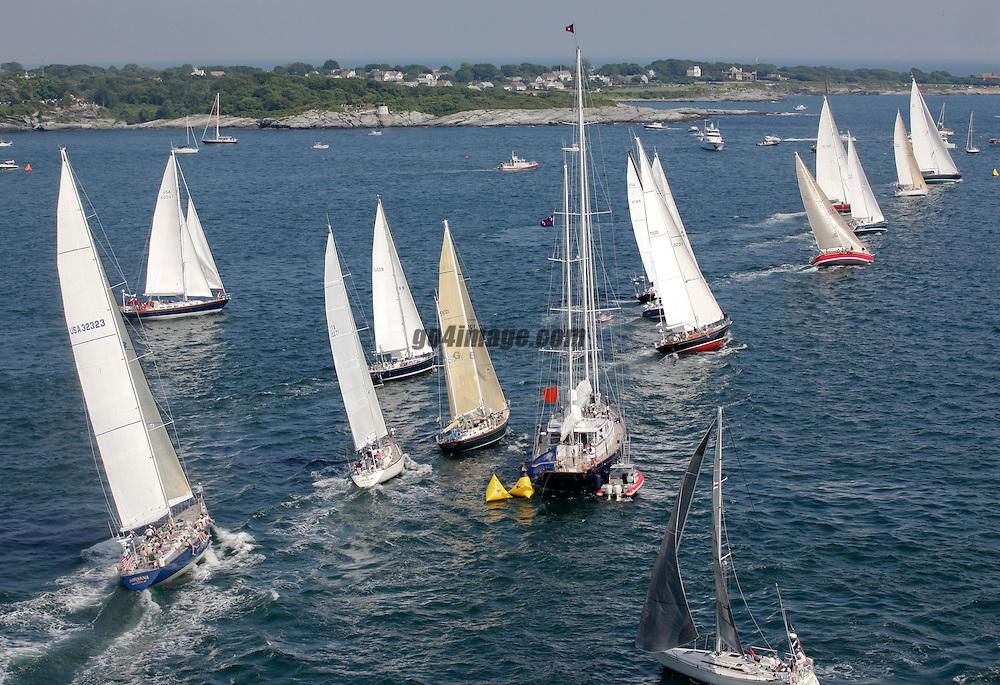 Start Class13<br /> 2010 Newport Bermuda Race