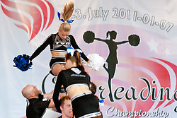 Renegades, Finland at European Cheerleading Championship 2011, on July 2, 2011, in SRC Stozice, Ljubljana, Slovenia (Photo by Matic Klansek Velej / Sportida)