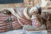 Village parish church Holbrook, Suffolk, England, UK - John Clenche tomb d 1607