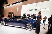 New York, NY - 1 April 2015. Lincoln unveiled its Continental concept car at the New York International Auto Show. The car is slated to go into production in 2016.