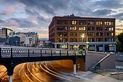 Yesler Bridge Opening day in Seattle, WA