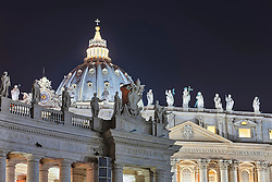 Cathedral at St Peter Square, Rome, Italy