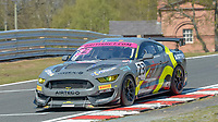 #23 Sam Smelt / Aron Taylor-Smith RACE Performance Ford Mustang GT4 Silver GT4  during British GT Championship as part of the British F3 / GT Championship at Oulton Park, Little Budworth, Cheshire, United Kingdom. April 19 2019. World Copyright Peter Taylor/PSP. Copy of publication required for printed pictures.