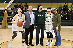 02/12/18 Notre Dame Senior Night