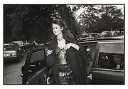 Isobel Goldsmith, Prince Michael birthday party.Ham Gate Ave. 1985