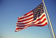 American flag<br />