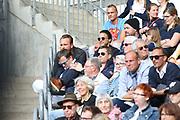 Tennis: Rothenbaum, German Open 2017, Hamburg, 23.07.2017<br /> Manhagen Classics: Michael Stich (GER) - Tommy Haas (GER), Schauspieler Kostja Ullmann<br /> © Torsten Helmke