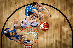 Martina Crippa of Italy vs Marusa Senicar of Slovenia during basketball match between Women National teams of Italy and Slovenia in Group phase of Women's Eurobasket 2019, on June 30, 2019 in Sports Center Cair, Nis, Serbia. Photo by Vid Ponikvar / Sportida