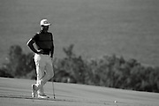 January 10 2016: Brooks Koepka during the Final Round of the Hyundai Tournament of Champions at Kapalua Plantation Course on Maui, HI. (Photo by Aric Becker)
