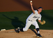 4/27/18 --- UCI starting pitcher Andre Pallante delivers a pitch --- CSU Fullerton v. UC Irvine  --- Anteater Ballpark, UC Irvine, Irvine, CA<br /> <br /> Photo by Michel Lim / Sports Shooter Academy