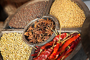 Spices for sale in Cochin, Kerala, India