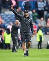 Football - 2019 / 2020 pre-season friendly - Liverpool vs. Napoli<br /> <br /> Liverpool manager Jurgen Klopp at full time, at Murrayfield, Edinburgh.<br /> <br /> COLORSPORT/BRUCE WHITE