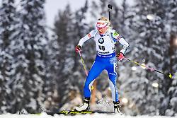 March 8, 2019 - –Stersund, Sweden - 190308 Kaisa Mäkäräinen of Finland competes in the Women's 7.5 KM sprint during the IBU World Championships Biathlon on March 8, 2019 in Östersund..Photo: Petter Arvidson / BILDBYRÃ…N / kod PA / 92247 (Credit Image: © Petter Arvidson/Bildbyran via ZUMA Press)