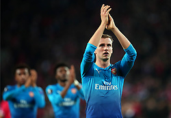 Rob Holding of Arsenal - Mandatory by-line: Robbie Stephenson/JMP - 23/11/2017 - FOOTBALL - RheinEnergieSTADION - Cologne,  - Cologne v Arsenal - UEFA Europa League Group H